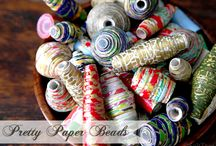 Paper beads / These are super cute and pretty