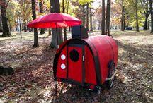 Minidomečky rychlostěhovací / Tiny houses on wheels and ideas
