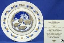 christmas plates / Spode Christmas plates