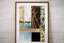 Digital Art Prints: Collage