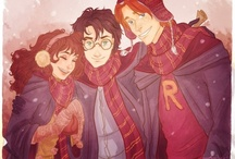 """Fandom: Harry Potter  / """"Happiness can be found, even in the darkest of times, if one only remembers to turn on the light"""" -- Albus Dumbledore;  """"In dreams, we enter a world that's entirely our own"""" -- Albus Dumbledore / by Selina Mae Borbe"""