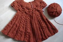 Jentestrikk/knits and crotchet for girls / Knitting patterns for girls