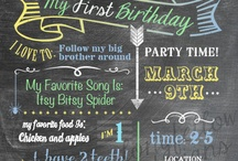 Birthdays / by Lauren Achtziger
