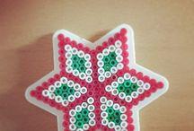 Wzory z koralików gwiazda
