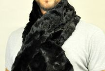 Unisex real fur scarves / Amifur.co.uk offers the best selection of real fur scarves, ideal for both, women and men. Made in Italy.  www.amifur.co.uk