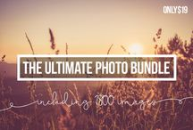 The Ultimate Photo Bundle / This NEW Ultimate Photo Bundle includes over 1800 High Resolution photos at a whopping 99% OFF RRP!
