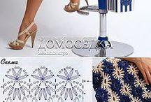 faldas y vestidos crochet