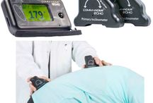 Inclinometry / Inclinometers are used to measure range of motion of a person by allowing medical professionals and researchers compare a subjects ability to move relative to relaxed or resting position.