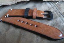 Hand made watch strap