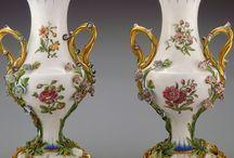 Antique Porcelain and Silver