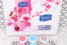 Suave Essentials / #ad You can find your favorite @SuaveBeauty Body Wash scent at your local Wal-Mart. They smell JUST as great as premium brands and are available for a fraction of the price! #SuaveBodyWash http://www.loveforlacquer.com/2016/11/let-senses-decide-suave-essentials-sniff-test.html