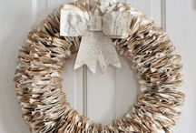 Inspiration - Christmas Paper Wreath Ideas