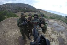Airsoft Game in Karpathos Greece / #airsoft #karpathos #greece #gun #gopro
