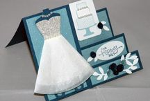 Stampin Up stand fold Wedding card two ways / Stampin Up