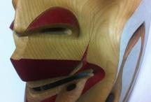 Masks & Carvings at Hill's