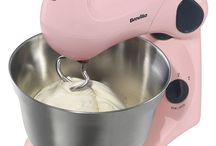 Stand Hand Mixer Pink Versatile Dough Beaters Bowl Baking Kitchen Food Processor