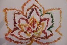 malování a batikování