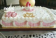 Yaş pasta ve kekler