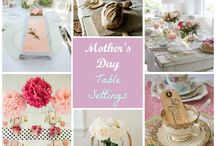 Mother's Day Table Settings