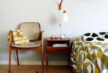 The bedroom / Idéer för sovrummet.