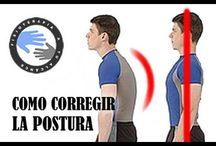 como corregir la postura