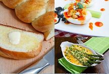 Easter Recipes / The day is getting longer and the food is getting yellowier. All food related to Easter, both sweet and savory. Enjoy!