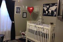 Lennon's nursery  / by Lisa Carey