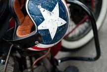 casques moto divers