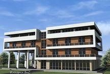"""Типовые проекты гостиниц / На этой доске собраны типовые проекты, разработанные архитектурно-строительной компанией ЧП """"Империя М"""""""