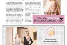 Published writing work / #beautywriter #writer #makeupartist #mua #makeupadvice