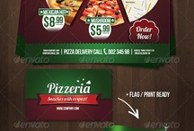 flyer menu / by Tuong VI Tran