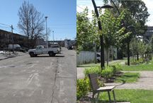 Urban Greening / Examples and inspiration for changing the face of the city.