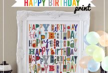 Crafts-Printables-Birthday / by Lori Eaton