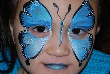 Make-up kid-face