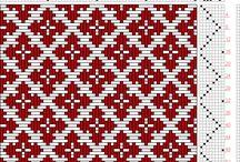 Vævning mønstre