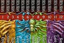 Cirque du freak / The Saga of Darren Shan (known as Cirque du Freak: The Saga of Darren Shan in the United States) is a young adult 12-part book series written by Darren Shan  about the struggle of a boy who has become involved in the world of vampires.