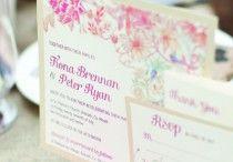 Lynne's Wedding / Table ideas, invitations, decorations