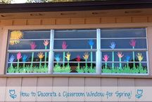 spring decoration preschool