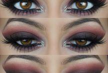 Braune Augen
