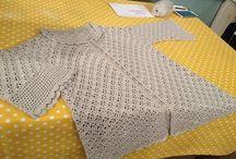 Crochet Jacket&Cardigan / Tığ işi ceket ve hırkalar