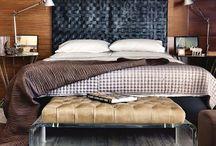 Bed built in