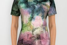 Artistic Tees / Tee Shirts designed by Sand and Chi