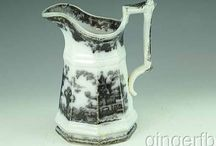 Flow mulberry Washington vase pattern