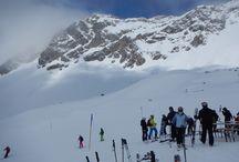 St Anton, Austria / Skiing in St Anton, Austria - a great ski area, with some fantastic runs and a fun nightlife.