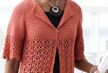 crochet tops/tunics