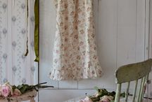 Textiles / Creating a board on shabby chic, Japanese street fashion and modern vintage