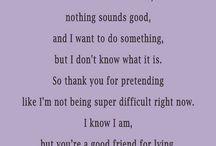 ♥ Friendship ♥