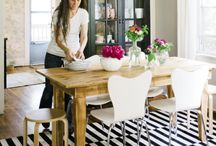 Pop of Black and White / Trend spotting...colors with a pop of black and white / by Betsy Veldman