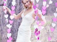 свадебная фото зона