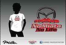 Mazda MX5 T-Shirt / #Miata #Mazda #Miata #Tshirt